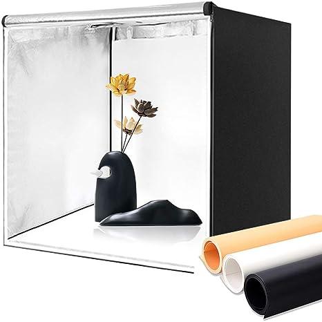 UFLIZOGH Caja de Luz Fotografía 80x80x80cm 32