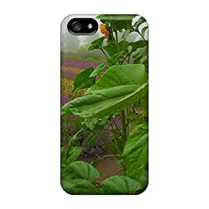 Iphone 5/5s Cases Covers - Slim Fit Protector Shock Absorbent Cases (one Last Sunflower)