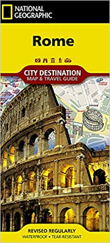 Rome (National Geographic Destination City Map): National Geographic ...