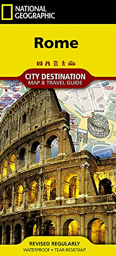 Detail Map - Rome (National Geographic Destination City Map)