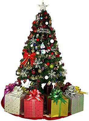 Artificial Christmas Tree Sizes.Amazon Com Qianding Shengdan Artificial Christmas Tree