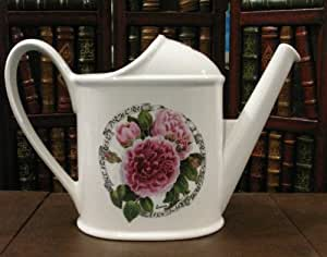 Portmeirion Rose by Susan Williams-Ellis Millennium Fragrant Rose English Rose Watering Can, 3 Pint
