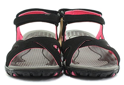 Gola Women's Cedar Fitness Shoes Black (Black/Hot Pink) bq8719