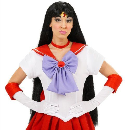 InCogneato Sailor Moon Mars Costume Wig