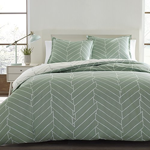 City Scene 216332 Ceres Cotton Comforter Set, King,Mint -