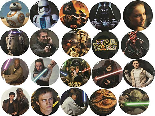 Lez a Lez The Bigger Vivider 1 .75 inch Badge/Button/Pin/Pinback/Button Set, (Star Wars)