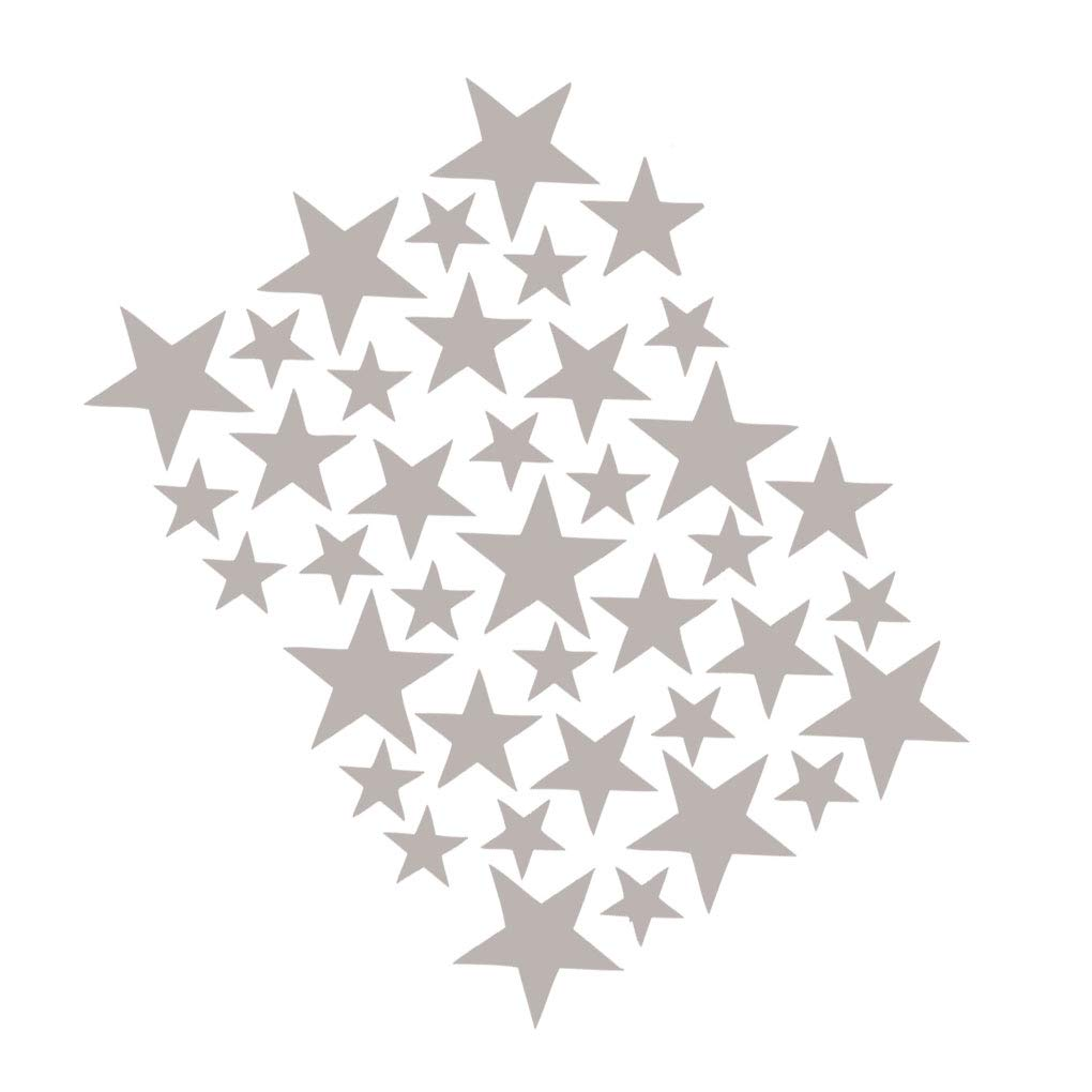 Zerama DIY Star Wall Sticker Mini Star Wallpaper Poster Adhesive Removable DIY Decor Kids Bedroom Hall Mural