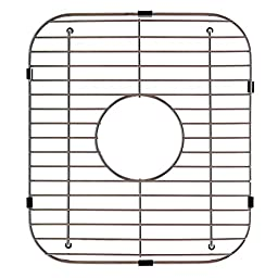 Kindred KGD50 Stainless Steel Universal Double Bowl Sink Grid with Center Drain, 13.13\