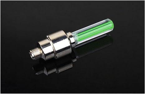2 luces LED para instalar en el tapón de válvula del radio de las ...