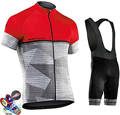 UK Bicycle Team Cycling Clothing Gel Padded Outdoor sports Suit Road Bike Sets