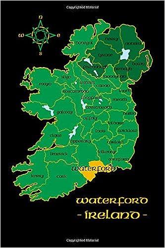 Map Of Waterford Ireland.Waterford Ireland County Map Irish Travel Journal Republic Of