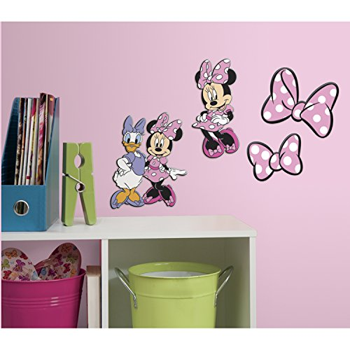 RoomMates Minnie Mouse Foam Characters ()