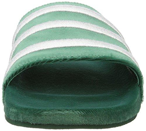 White para Footwear Green Hombre Collegiate White Piscina Zapatos de Footwear Adilette y Adidas Verde Playa TwY7Fwq4
