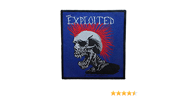 Exploited Patch Mohican Multicolour in 10 cm x 10 cm