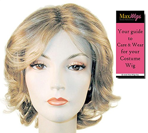 Martha Stewart Living Color Brown - Lacey Wigs Women's Synthetic Crafts Homemaker Traditional Bundle With MaxWigs Costume Wig Care Guide]()