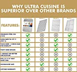 Ultra Cuisine 100% Stainless Steel Wire Cooling