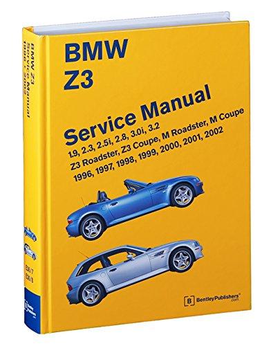 BMW Z3 Service Manual: 1996-2002: 1.9, 2.3, 2.5i, 2.8, 3.0i, 3.2 ...