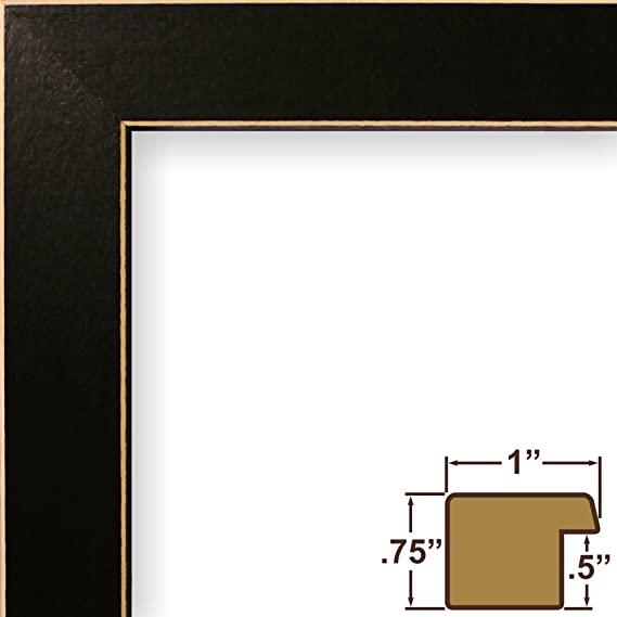 Amazon 12x20 Picture Poster Frame Wood Grain Finish 1 Wide