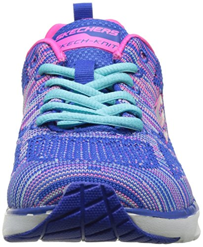 Skechers Skech-Air Infinity-Wildcard, Zapatillas de Deporte Exterior para Mujer Azul (Blhp)