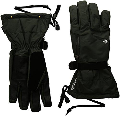 Columbia Men's Bugaboo Interchange Gloves, Gravel, Small