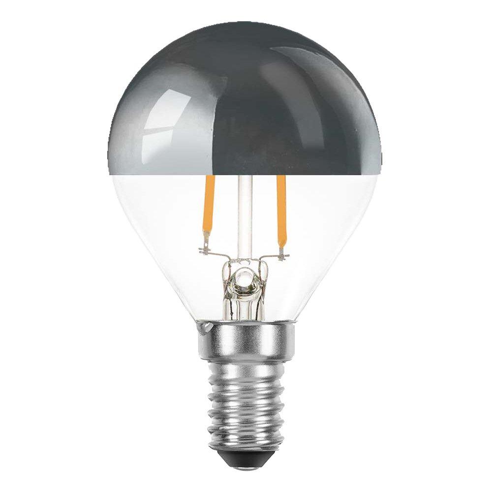 400lm Paulmann LED Tropfen 4,8W = 38W Kopfspiegel Silber,Warmweiß 2700K E14