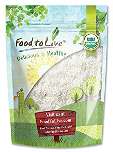 Food To Live Organic Shredded Coconut (Desiccated, Unsweetened, Non-GMO, Bulk) (2 Pounds)