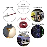 LightingWill 65.6ft/20M Electirc Wire 22