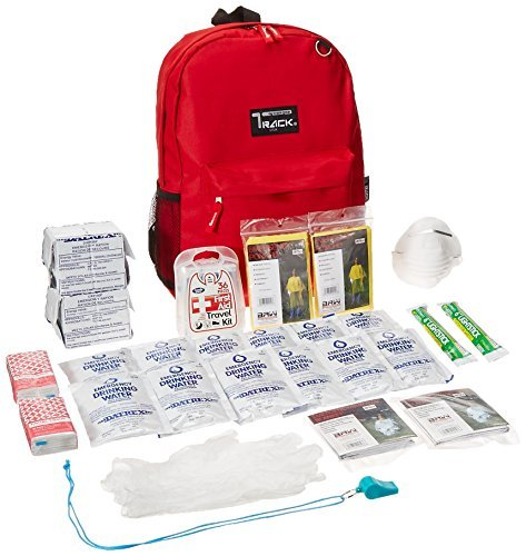 Safe-T-Proof 2 Person/3 Day Grab and Go BackPack Emergency Survival Kit by Safe-T-Proof