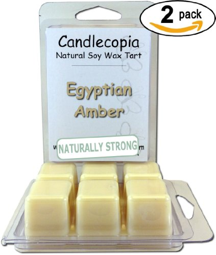 Candlecopia Egyptian Amber Strongly Scented Hand Poured Prem