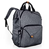 Hap Tim Laptop Backpack 15.6/14/13.3 Inch Laptop Bag Travel Backpack for Women/Men Waterproof School Computer Bag Large Capacity Bookbag for College/Travel/Business (7651US-BG)