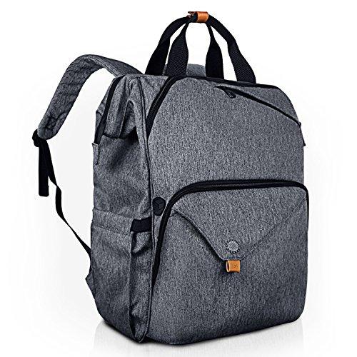Hap Tim Laptop Backpack 15.6/14/13.3 Inch Laptop Bag Travel Backpack for Women/Men Waterproof School Computer Bag Large Capacity Bookbag for College/Travel/Business (7651US-BG) by Hap Tim