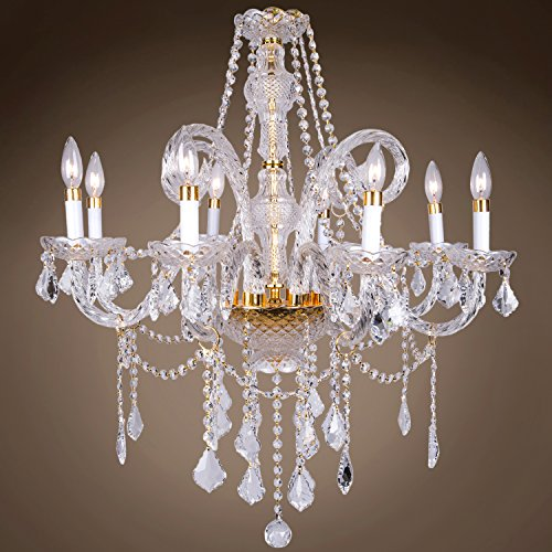 Victorian Design 8 Light Led 28