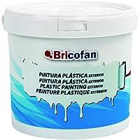 Cofan 15002372 Pintura plástica Exterior, Blanco, 20 kg