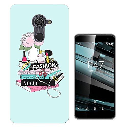 799 - Fashion Magazine Perfume Lipstick Nail Varnish Design Vodafone Smart Platinum 7 (5.5