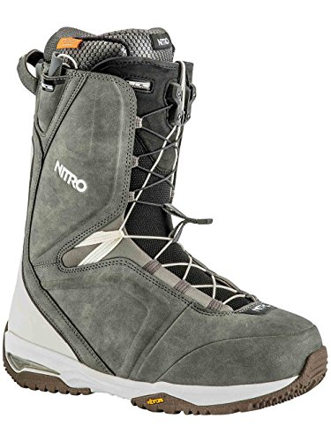 Nitro Team TLS Snowboard Boot - Men's Charcoal/White, 13.0 ()
