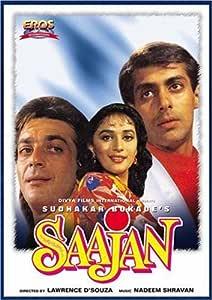 Amazon.com: Saajan (Hindi Film / Bollywood Movie / Indian Cinema DVD) by  Sanjay Dutt: Movies & TV