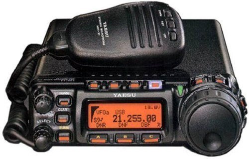 Yaesu FT-857D Amateur Radio Transceiver - HF, VHF, UHF All-Mode 100W Remote Head Capability (Best Portable Hf Transceiver)