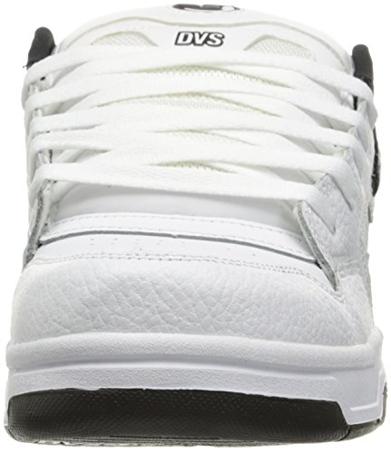 DVS Shoes Herren Enduro Heir Low-Top Weiß (White Black Pinstripe)