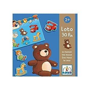 Djeco  - Educativos loto casa y juguetes