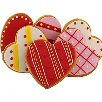 Amazon Com Valentine S Day Decorated Cookies Gourmet Food