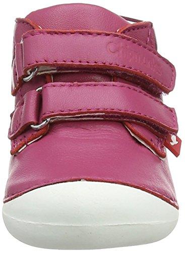 Chipmunks Baby Mädchen Bailey Babyschuhe Pink (Pink)
