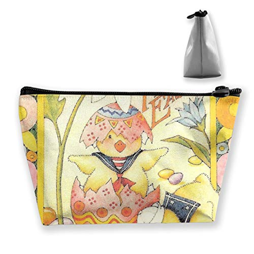 (Women's Easter Mary Engelbreit. Travel Cosmetic Bags Small Makeup Clutch Pouch Cosmetic And Toiletries Organizer Bag)