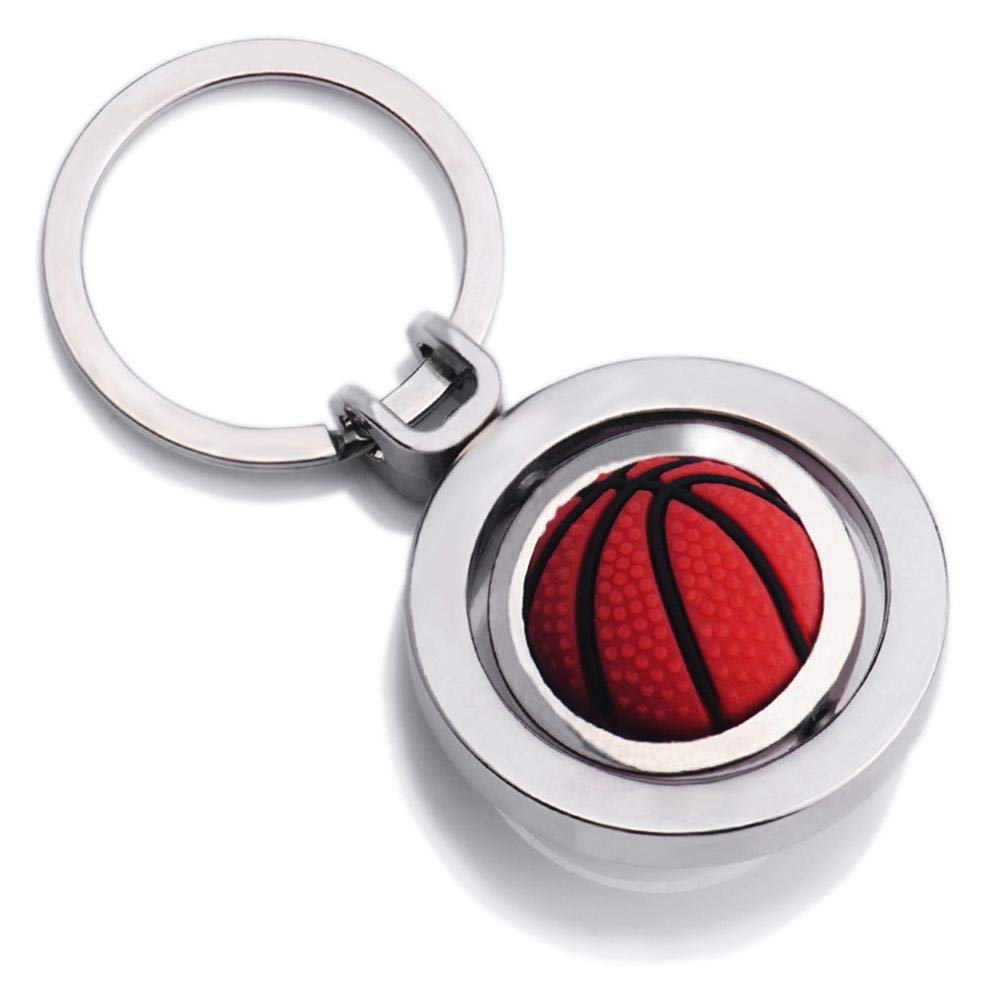 Rotatable Key Ring Metal Car Key Chain Bag Pendant Carabiner World Cup Soccer Different Look,World Cup Souvenir Arvin87Lyly