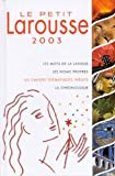 Le Petit Larousse Illustre, Larousse Staff, 203530203X