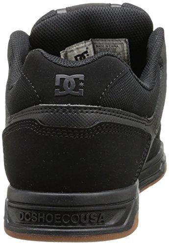 DC Herren Stag Sneaker Schwarz / Gum