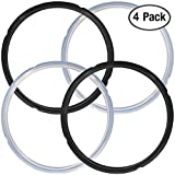4 Pack Silicone Sealing Rings for Pressure Cooker