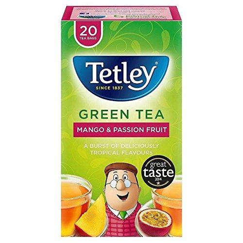 Tetley Green Mango & Passionfruit Tea Bags - 20 per pack ()
