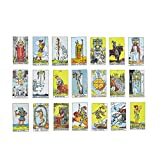 MandAlimited Classic Tarot Cards Deck with - a