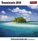 Trauminseln - Kalender 2018: Sehnsuchtskalender, 53 Postkarten