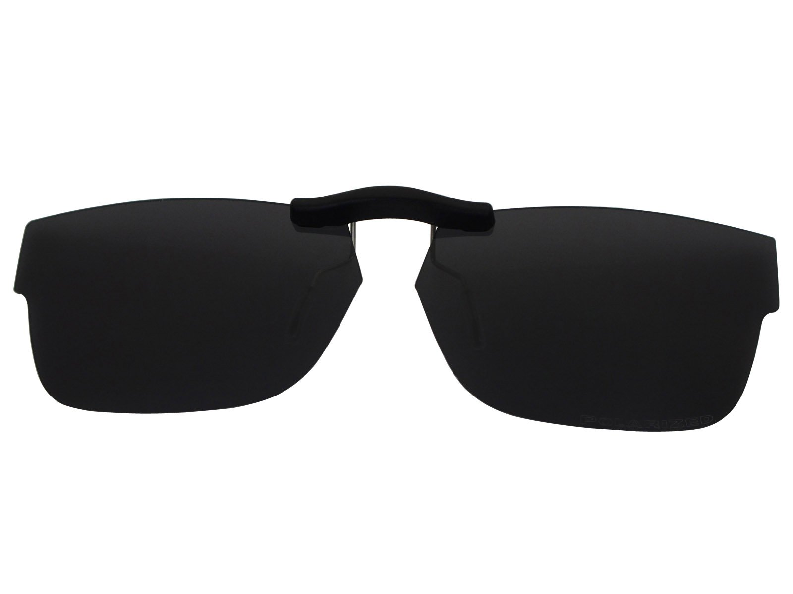 Custom Fit Polarized CLIP-ON Sunglasses For Ray-Ban RB5268 48X17 Black